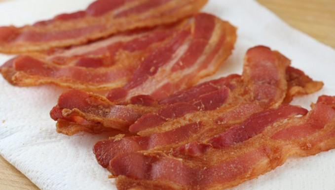 bacon i ovn sølvpapir
