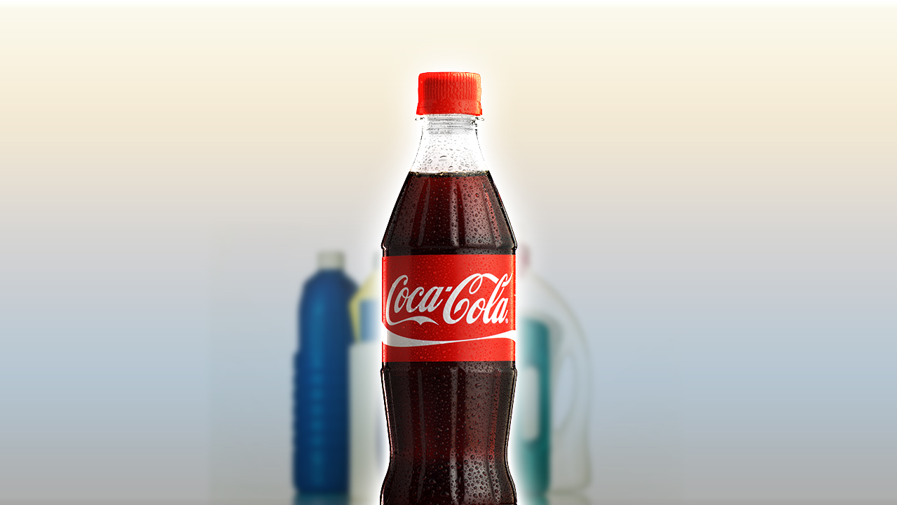 Rengøring med Cola – Tilføj Cola til hylden med rengøringsprodukter