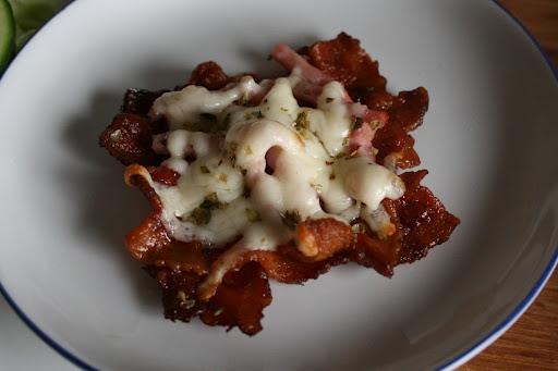 Lækker baconsnack til morgen, middag og aften